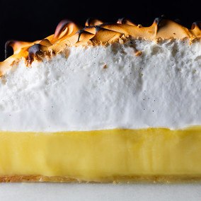 Cocnut Lemongrass Meringue Pie