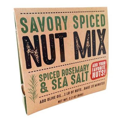 Savory Spiced Rosemary & Sea Salt Nut Mix