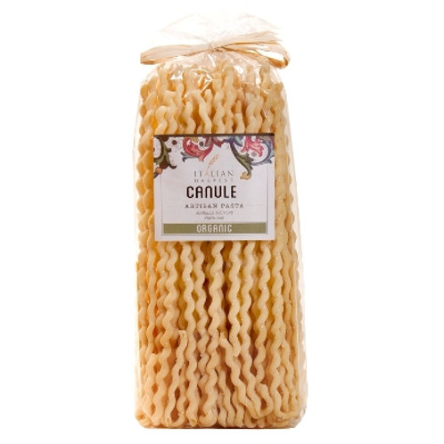 Canule Organic Pasta