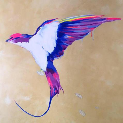 Yucatan Swallow Bird