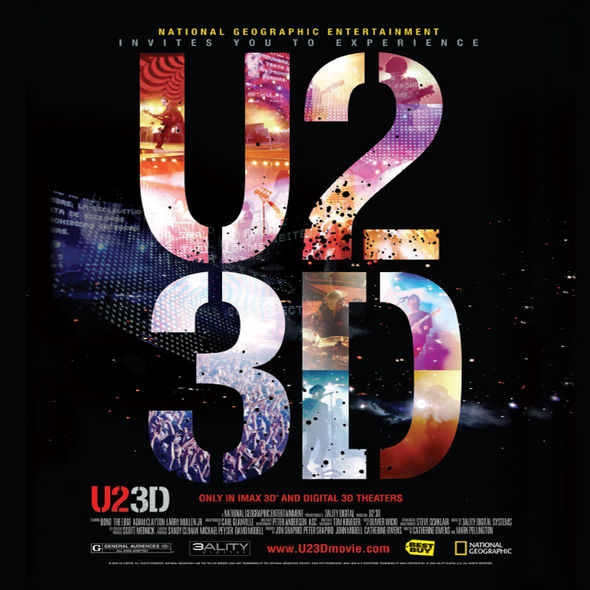 U23D Key Art