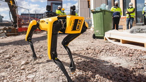 Robot dog Spot demonstrated on site in Finland
