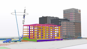 Use of SketchUp in construction planning and urban development projects
