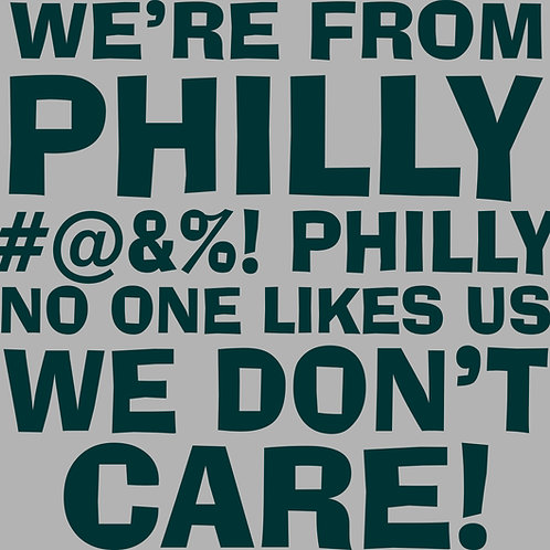 WE'RE FROM PHILLY Hoodie