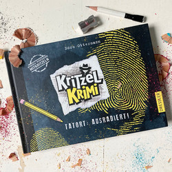 Kritzelkrimi Cover