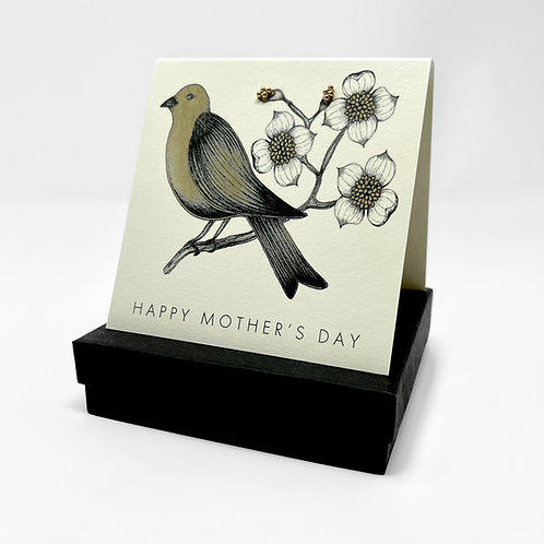 GGG37 - HAPPY MOTHER'S DAY BIRD