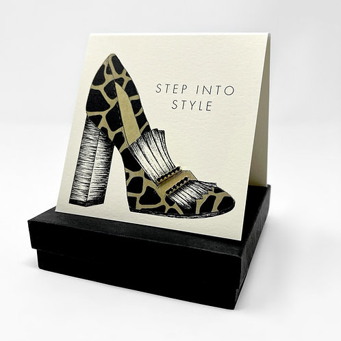STEP INTO STYLE SHOE