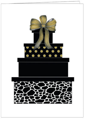 AO353 - PATTERNED STACKED PRESENTS
