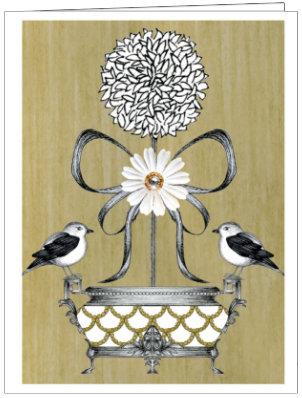 LOVE BIRDS TOPIARY