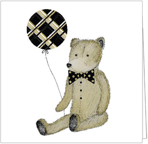 TEDDY BEAR WITH BALLOON