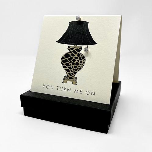 GGG33 - LEOPARD LAMP