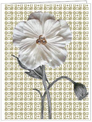 CCC99 - POSH PATTERN FLOWER
