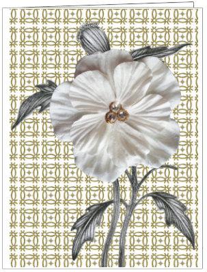 CCC98 -  POSH PATTERN FLOWER