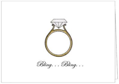 AO228 - BLING BLING ENGAGMENT RING