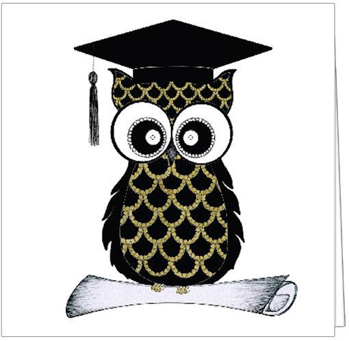 GGE116 - GRADUATION OWL