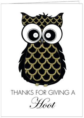 THANKS YOU OWL