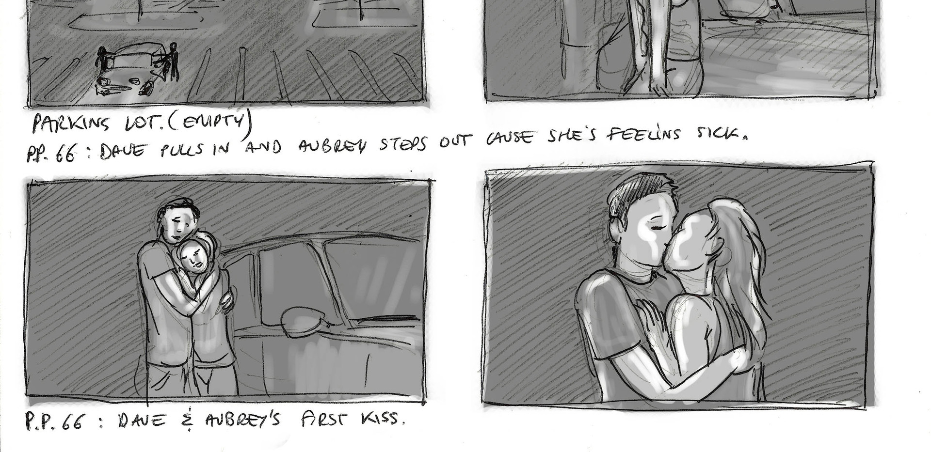"""The First Time"" - storyboard"