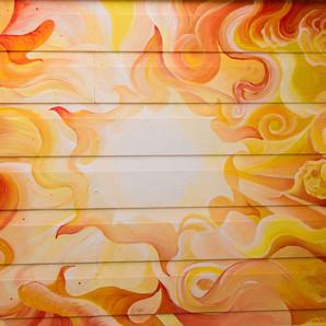the fire - the light - the sun