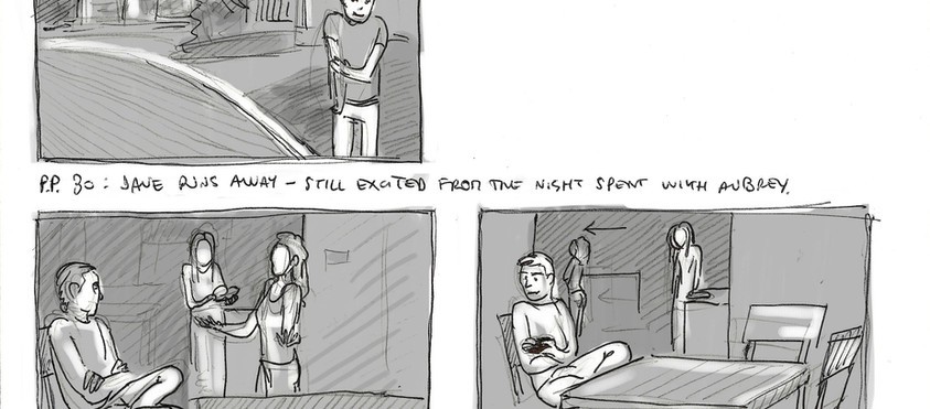 """""""The First Time"""" - storyboard"""