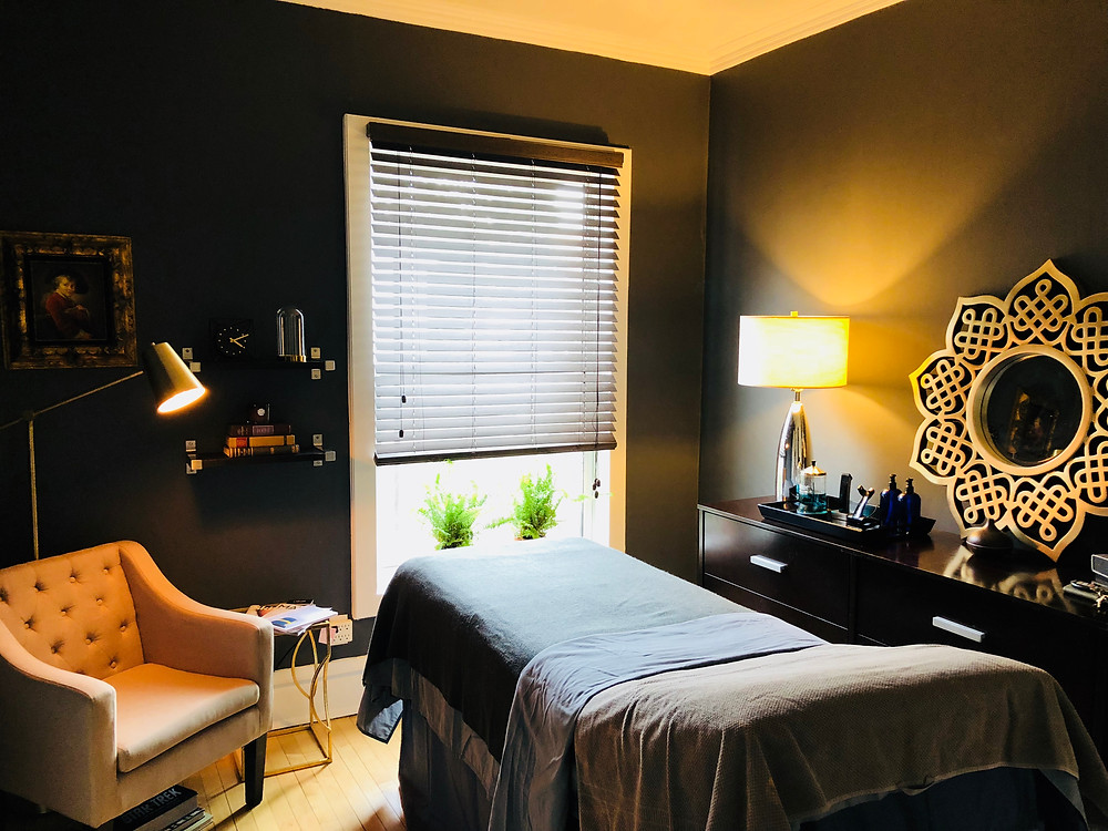 Skin Care For Gents Treatment Room