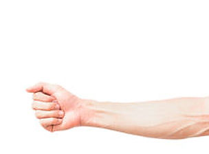 man-arm-blood-veins-white-background-hea