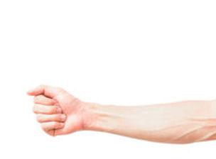 man-arm-blood-veins-white-background-hea