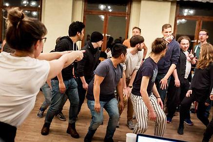 Workshop mit dem Chor Klangwerk 306 Anne Grabowski Choreografie