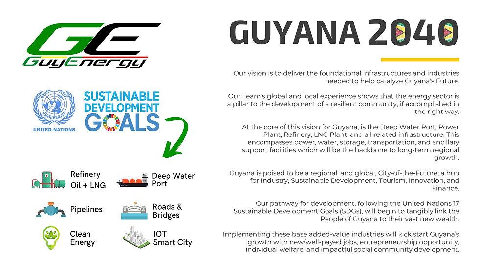 1Phoenix Development Corp - Guyana 2040.