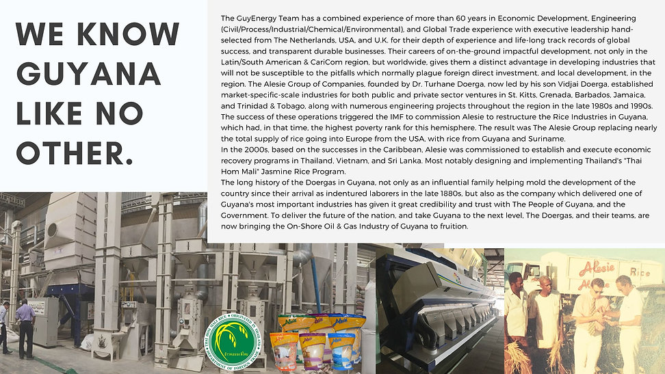 4Phoenix Development Corp - Guyana 2040.