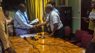 The GHA has submitted the Industrial Hemp Petition and Handbook to the Parliament of Guyana!!!