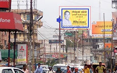 Bhattacharya road T-point Size: 40 x 25 sq.ft Non Lit