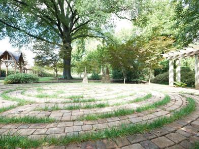 Children, labyrinths, schools & Avondale