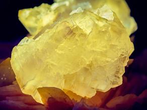 Cerussite, Barite - Les Dalles Mine, Mibladen, Morocco