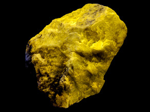 Fluorapatite - Ham & Weeks Mine, Wakefield, New Hampshire
