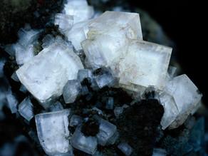Fluorite - Bluffton Quarry, Ohio