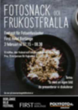 affisch Fotosnack och frukostfralla_feb