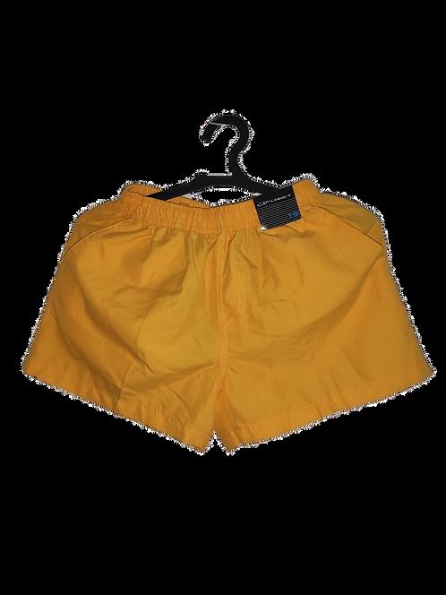 shorts amarelo kids