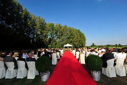 Endroit mariage Metz golf Domaine de la Grange aux Ormes cérémonie