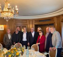 Académiciens Goncourt le 03.03.2020 chez Drouant