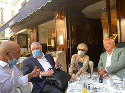 Académiciens Goncourt chez Drouant, juin 2021
