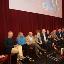 Les Académiciens Goncourt réunis à Nancy pour la remise officielle du Prix en septembre 2018 pendant le Livre sur la Place.