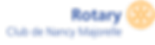 Logo du Rotary Club Nancy Majorelle