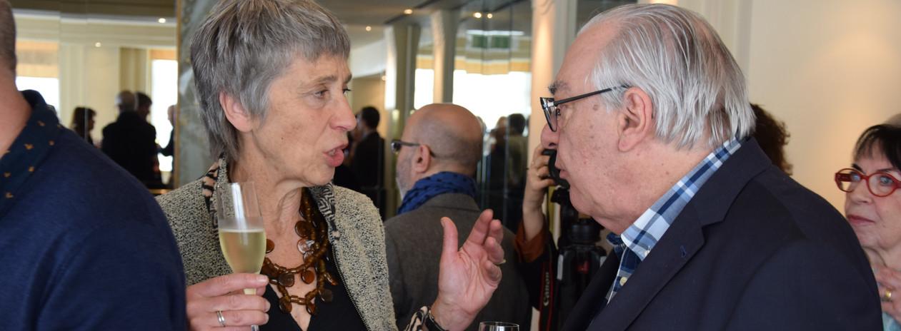 Caroline Lamarche et Didier Decoin
