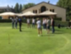 Golf Metz Domaine de la Grange aux Ormes réunion de collaborateurs