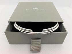 Sterling Silver Entwined Galaxy Bracelet