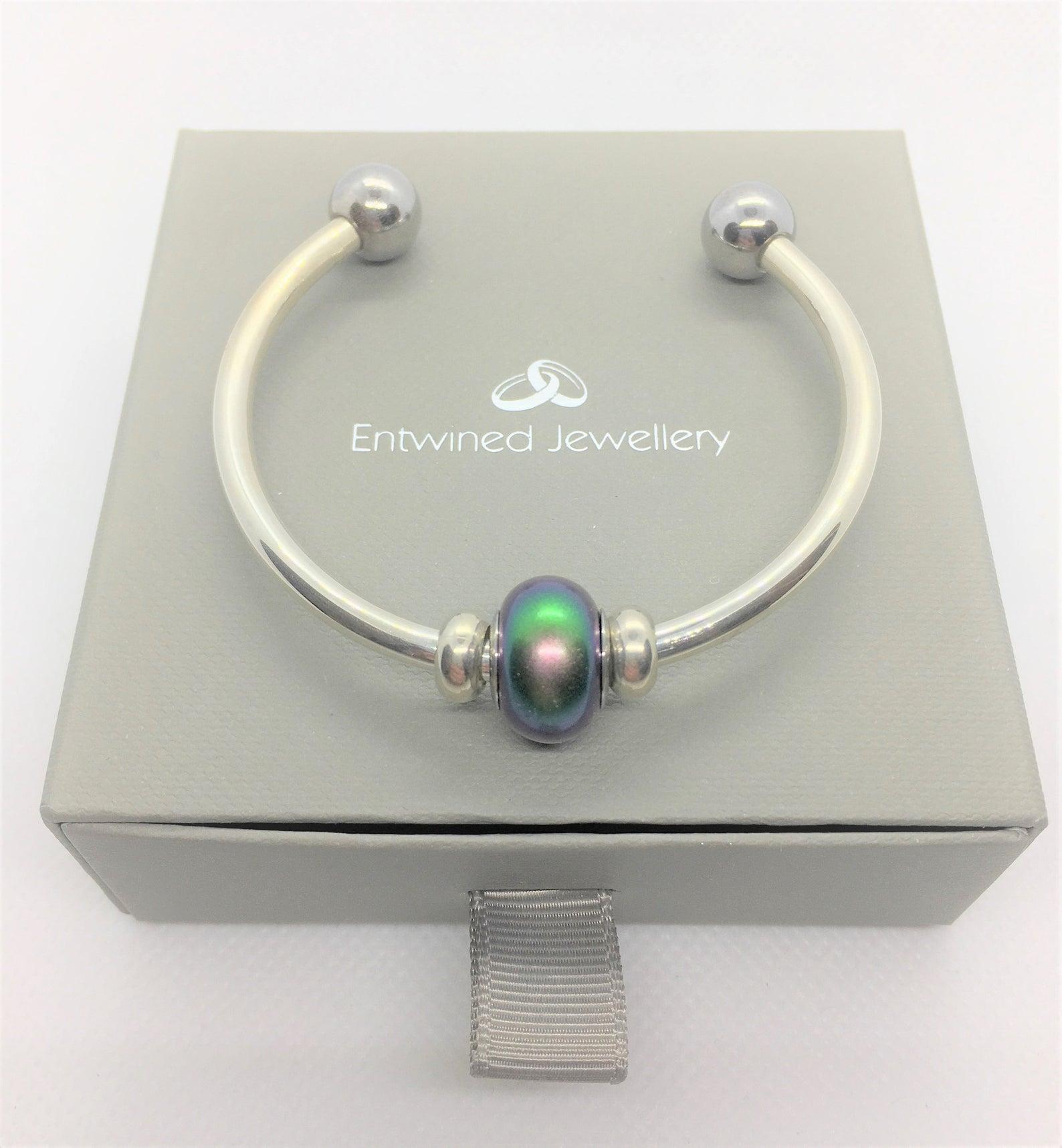 Luxury Sterling Silver Verona Cuff Brace