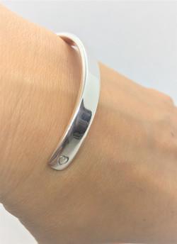 925 Sterling Silver Classic Silver Cuff