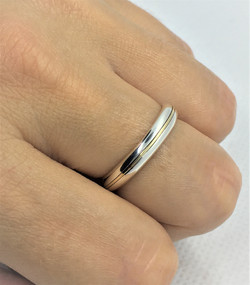 9Ct Gold and 925 Solid Sterling Silver -