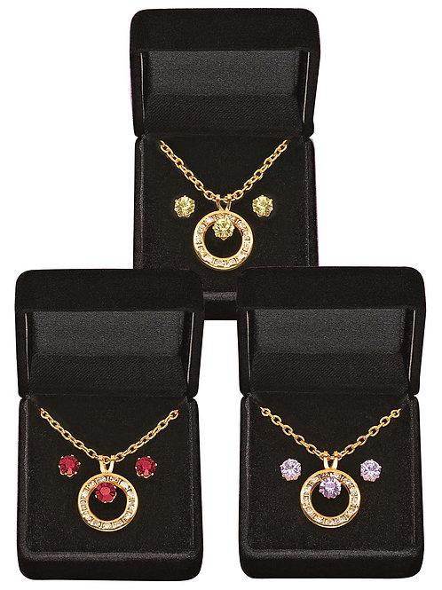 Genuine Crystal Jewelry Set