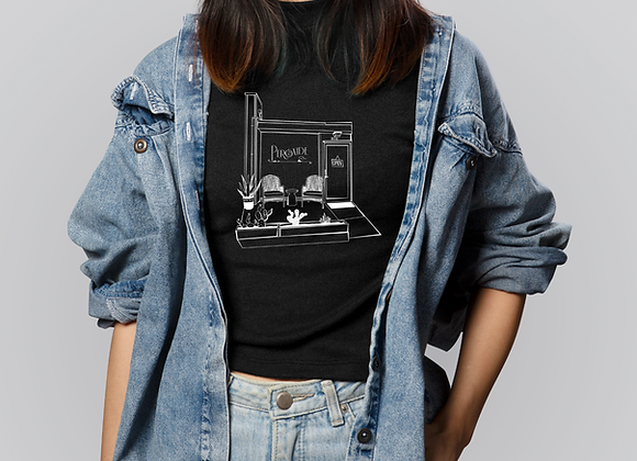 """""""The front of the shop"""" tee"""